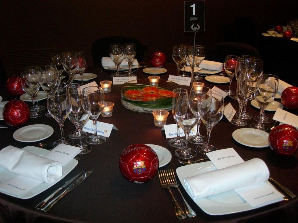 Dinner corporatif à Barcelone