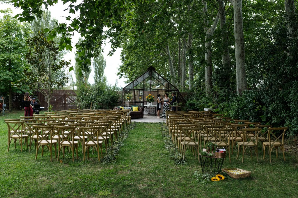 Casament a l'hivernacle